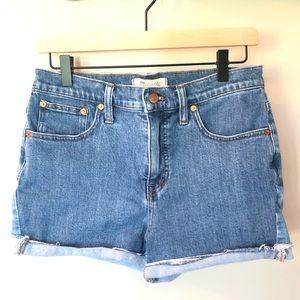 MADEWELL - High Rise - Denim Shorts